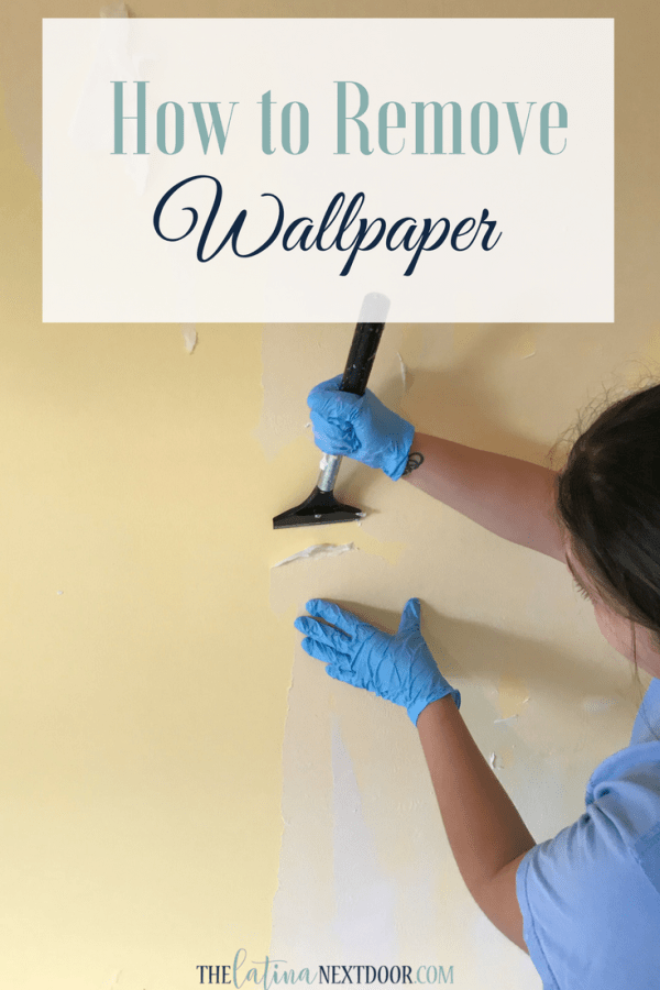 how to remove wallpaper pin How to Remove Wallpaper