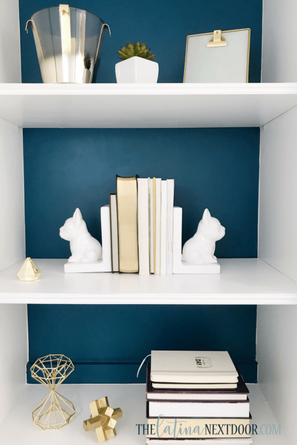 SW Color of the Year Oceanside 9 Sherwin Williams Color of the Year Oceanside Bookshelves