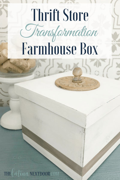 Thrift Store Farmhouse Box
