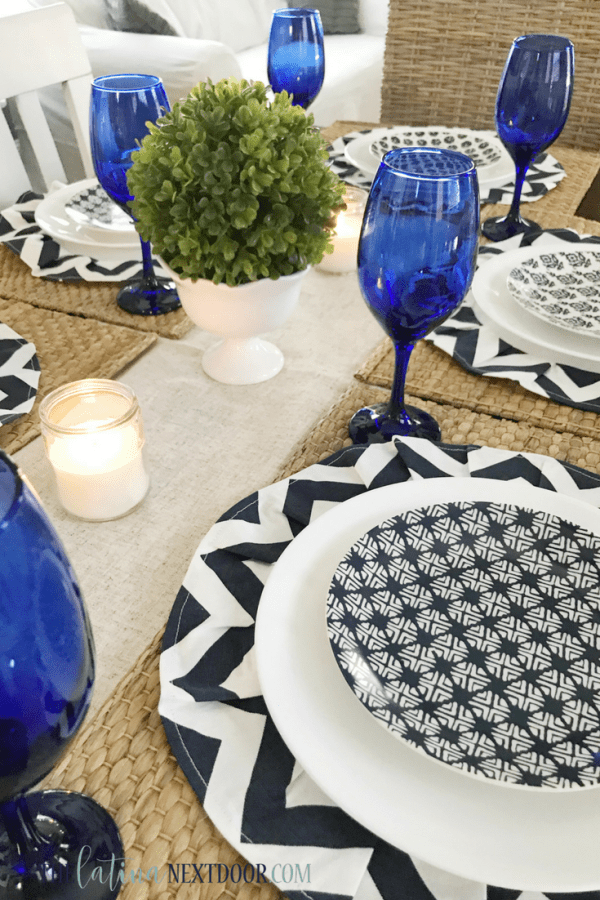 DIY Chargers Coastal Tablescape 12 DIY Chargers & Coastal Tablescape
