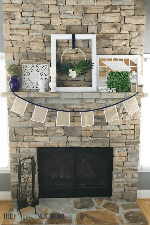 Summer Coastal Farmhouse Mantle 5 Summer Coastal Farmhouse Mantle