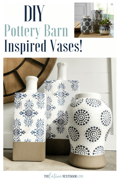 DIY Pottery Barn Vases