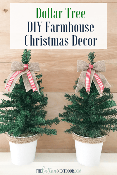 DIY Dollar Tree Christmas Trees