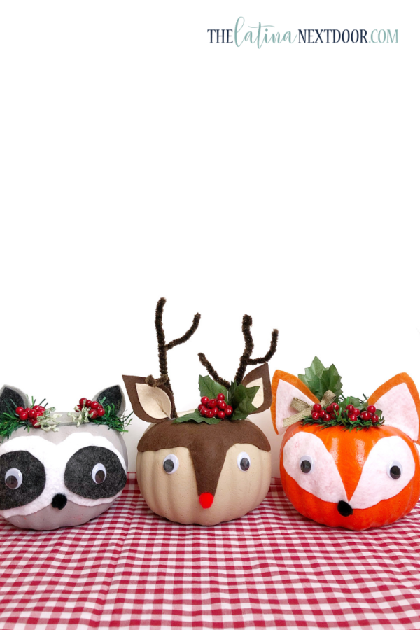 DIY Dollar Tree Christmas Woodland Animals 13 Over 15 Christmas DIYs