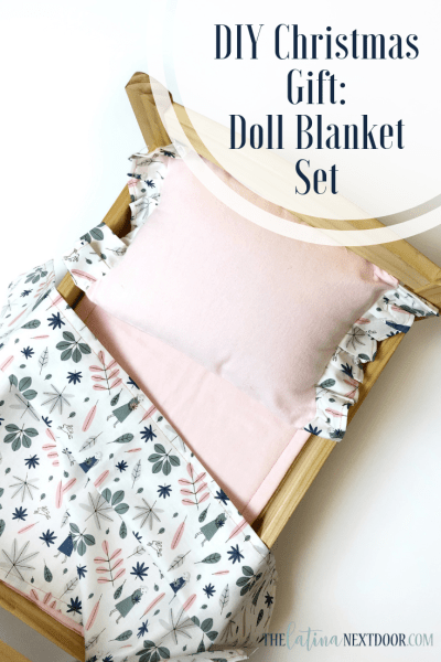 DIY Gift Idea - Doll Blanket Set