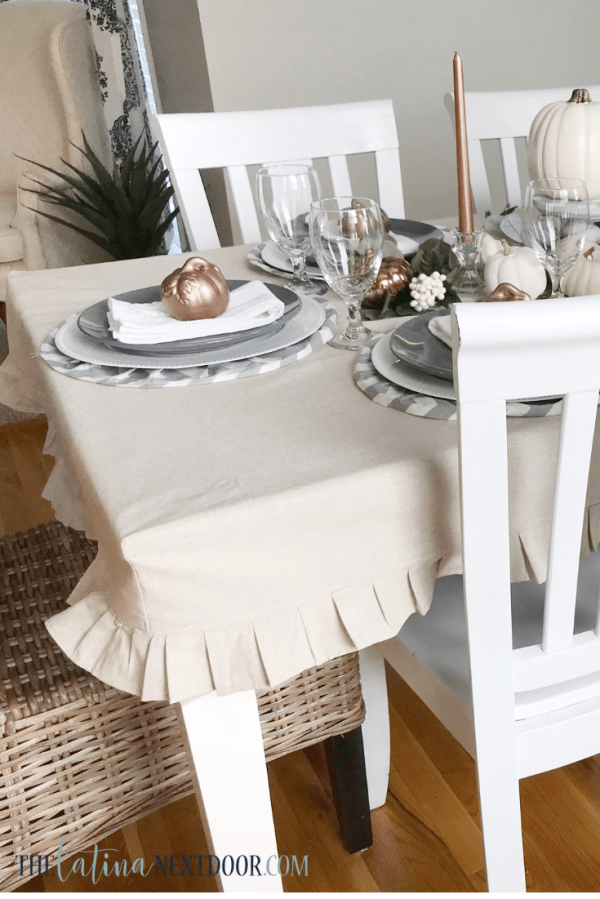How to Make a Tablecloth Farmhouse Style 17 How to Make a Tablecloth Farmhouse Style