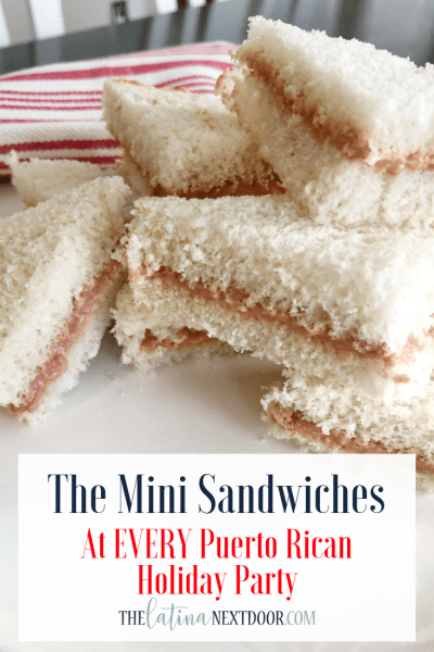 Puerto Rican Mini Party Sandwiches