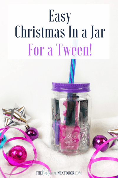 Easy Christmas in a Jar for a Tween