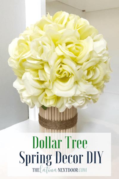 Dollar Tree Spring DIYs