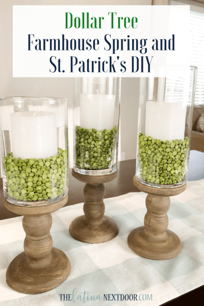 Farmhouse Spring and St. Patrick's DIY's