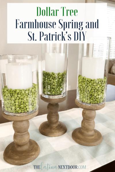 Farmhouse Spring and St. Patrick's DIY's