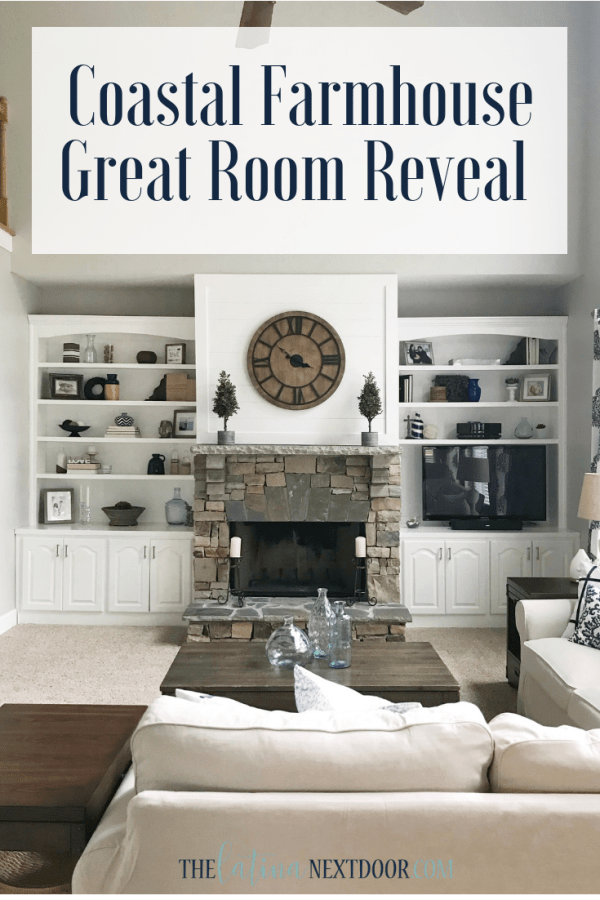 Coastal Farmhouse Great Room Reveal Coastal Farmhouse Great Room Reveal