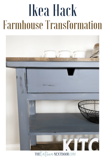 IKEA Table Hack - Farmhouse Transformation