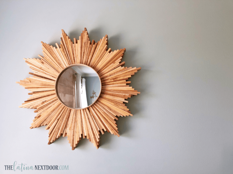 Rustic Sunburst Mirror DIY 6 Rustic Sunburst Mirror DIY