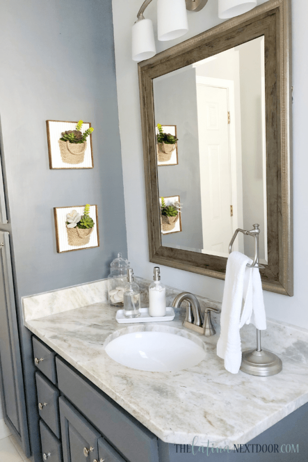 Coastal Farmhouse Bathroom Reveal 8 Coastal Farmhouse Bathroom Reveal