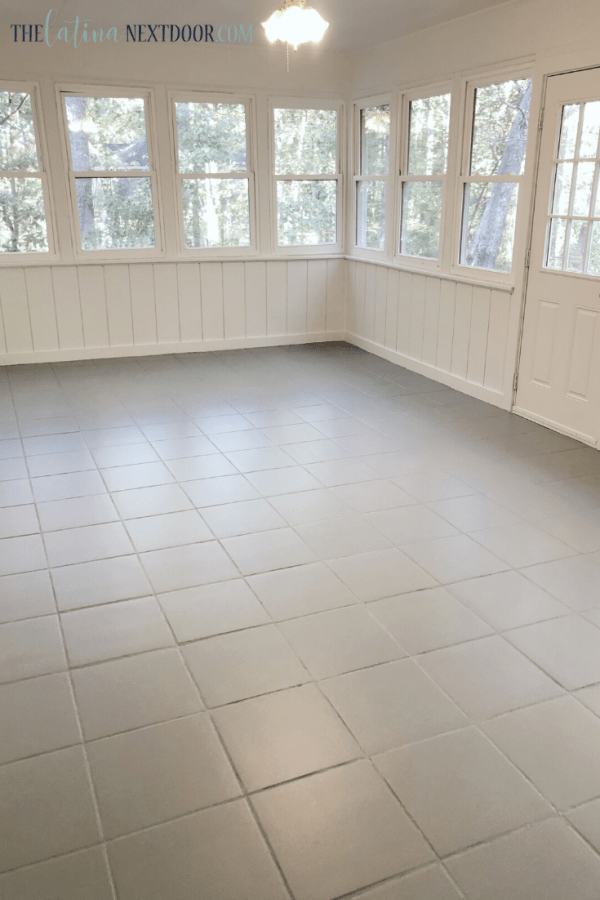 Painted Sunroom Floors 5 Painted Sunroom Floor Tiles