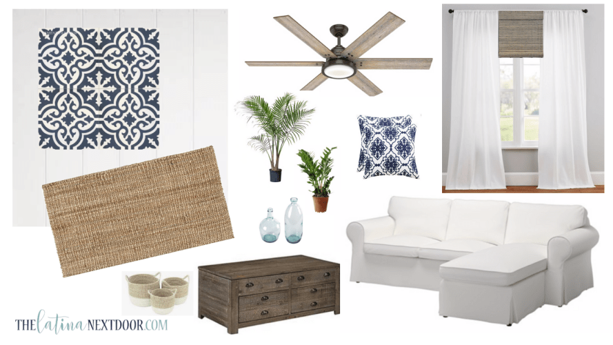 Sunroom Vision Board Hunter Coastal Farmhouse Sunroom Plans