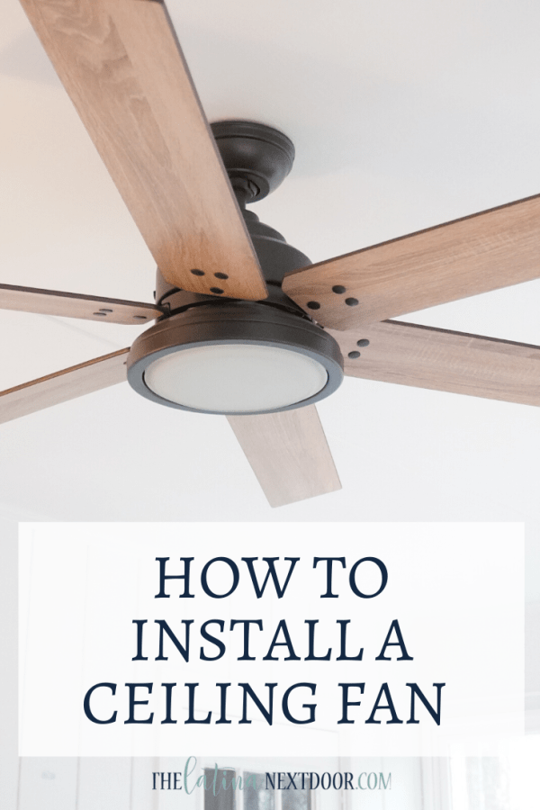 How to Install a Ceiling Fan How to Install a Ceiling Fan