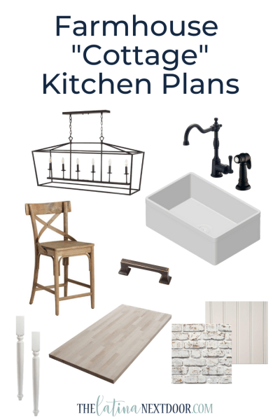 Farmhouse Cottage Kitchen Plans
