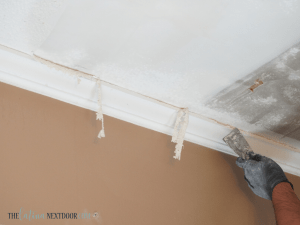 %name How to Remove Popcorn Ceilings Yourself 1