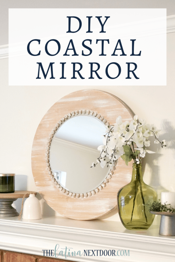 DIY Coastal Mirror DIY Coastal Mirror