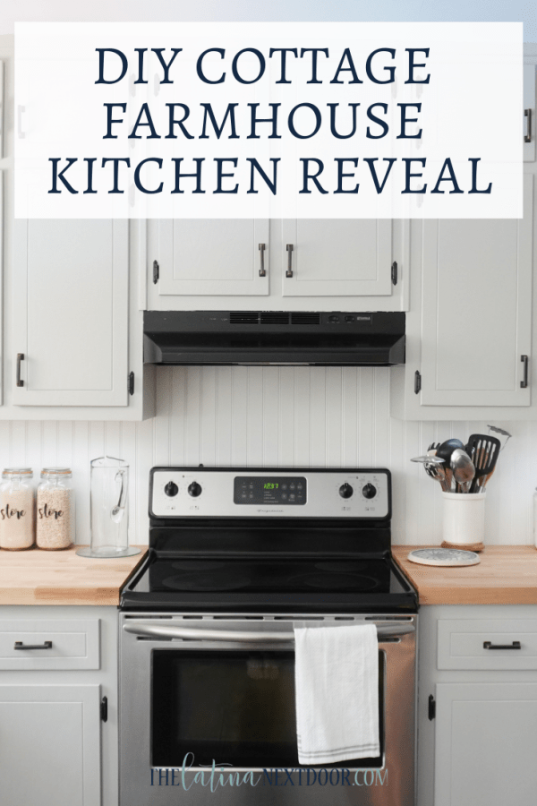DIY Cottage Farmhouse Kitchen Reveal DIY Cottage Farmhouse Kitchen Reveal