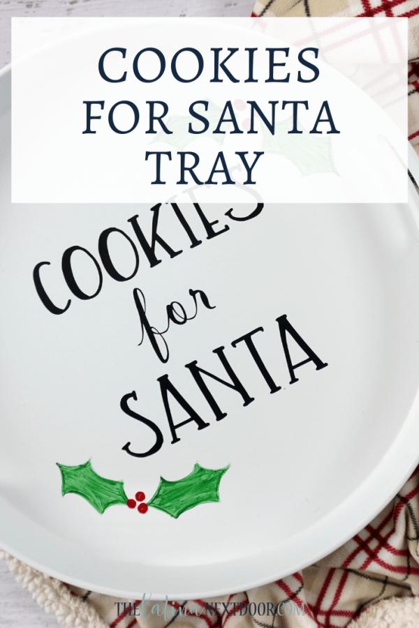 Cookies for Santa Tray DIY Cookies for Santa Tray