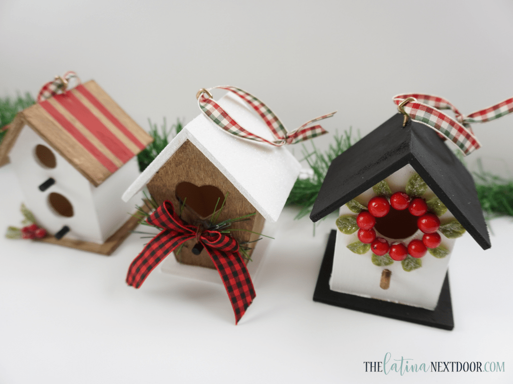 Dollar Tree Birdhouse Ornaments 12 Dollar Tree Birdhouse Ornaments