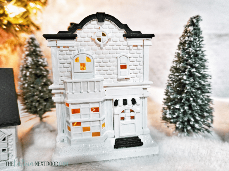 Dollar Tree Christmas Village Hack 6 Dollar Tree Christmas Village Hack