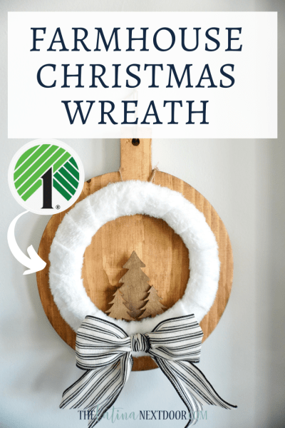 5 Minute Dollar Tree Christmas Wreaths