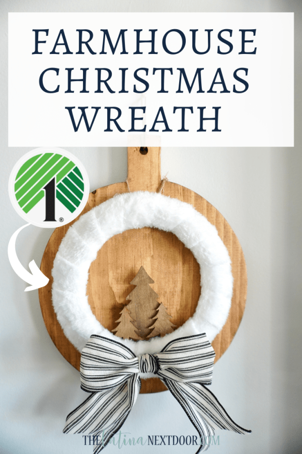 Dollar Tree Farmhouse Christmas Wreath 5 Minute Dollar Tree Christmas Wreaths