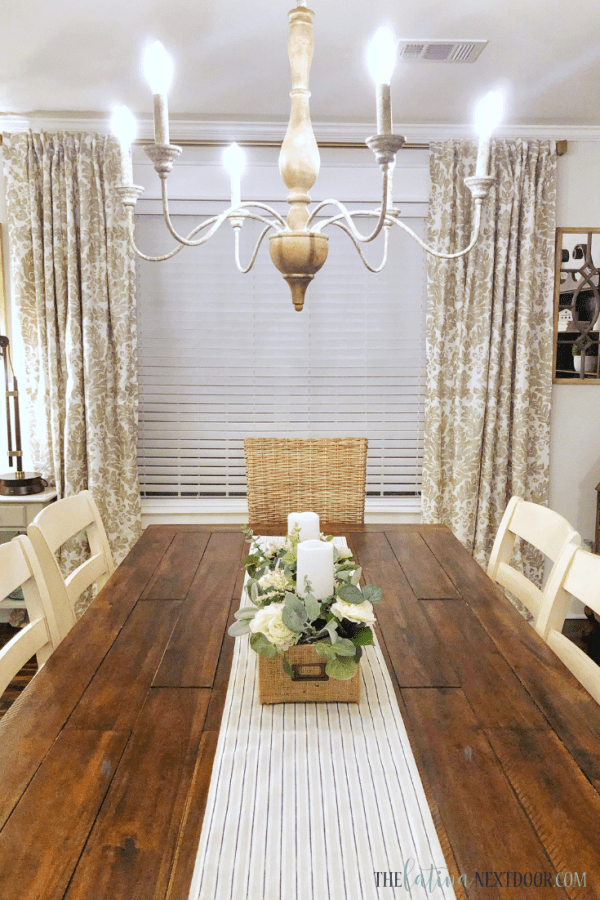 Dining Area Reveal 4 Cottage Farmhouse Dining Room Reveal