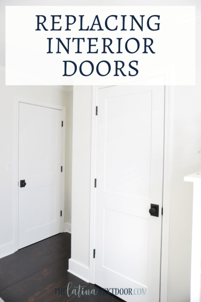 Replacing Interior Doors
