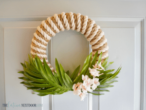 %name DIY Coastal Wreath 8