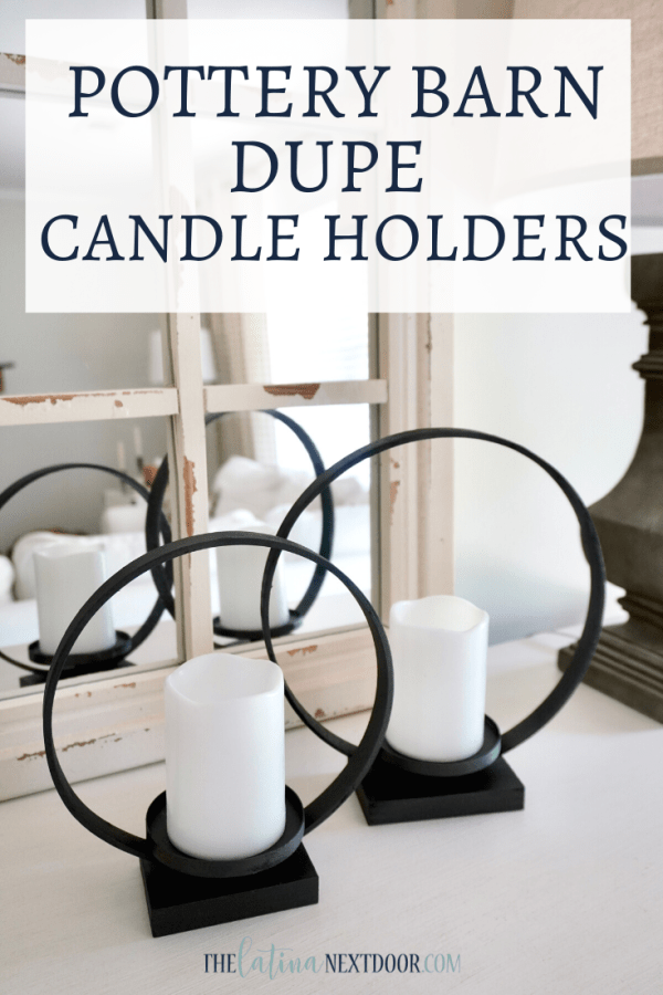 Pottery Barn Dupe Ring Candle Holders Pottery Barn Dupe Ring Candle Holders