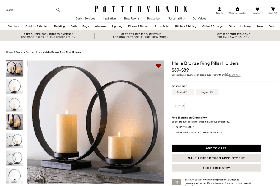 Screen Shot 2021 09 16 at 9.21.35 PM Pottery Barn Dupe Ring Candle Holders