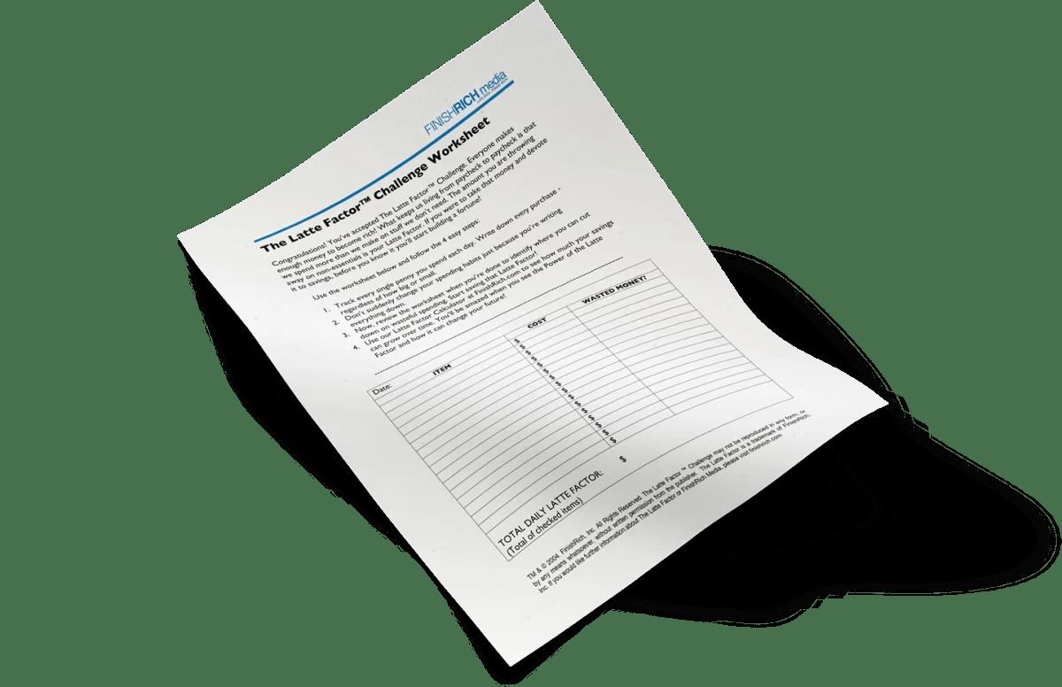 David Bach Worksheet