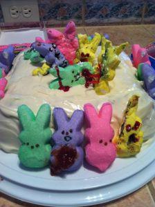easter dead cake
