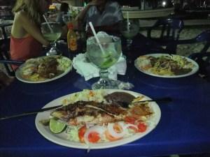 first night whole fish