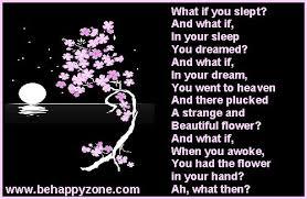 pluck a flower