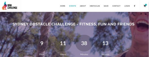 raw challenge days remaining