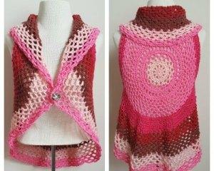 Pocket Full of Posies Vest - Free Crochet Pattern - The Lavender Chair