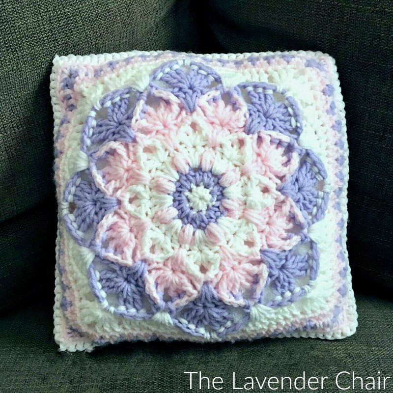 Kaleidoscope Lily Pillow Crochet Pattern