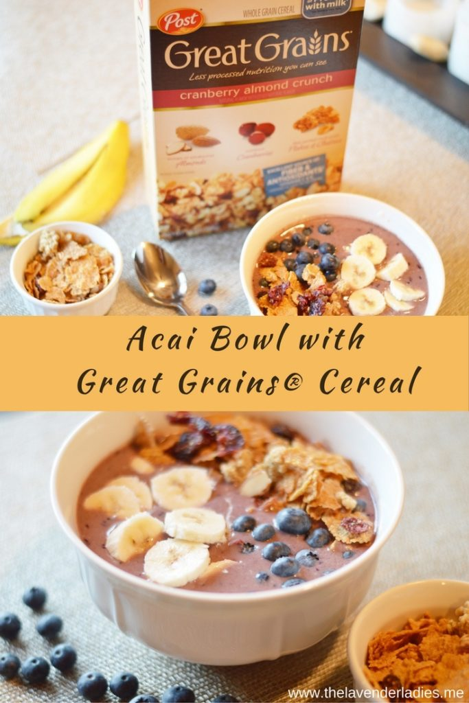 Acai Bowl with Great Grains®