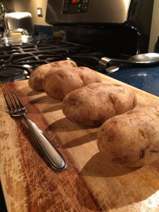 Easy Double Stuffed Potatoes