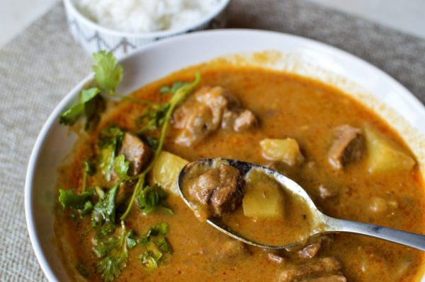 Tender Beef Masaman with Potato Thai Curry
