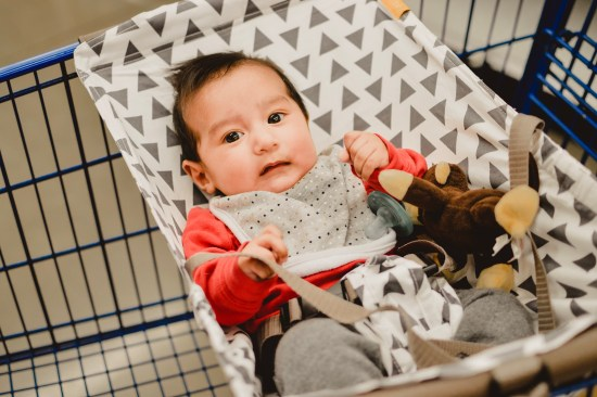 Grocery Shopping With A Baby- Made Easier