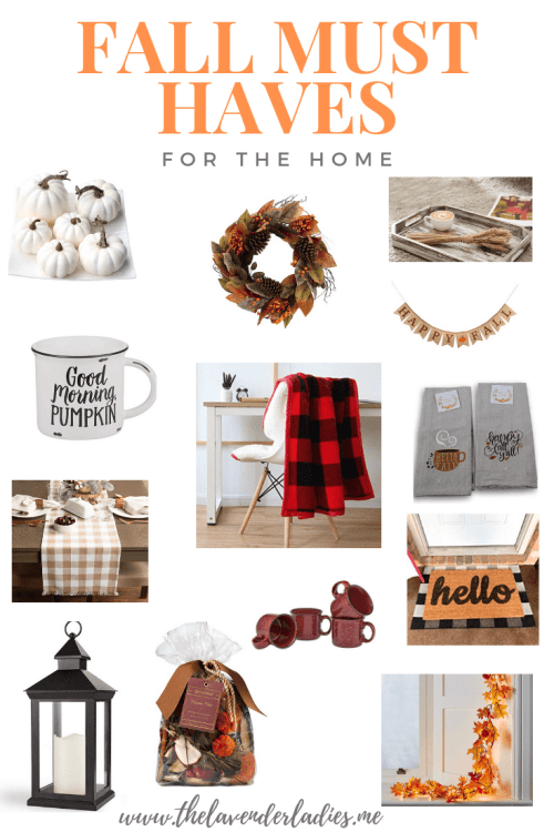 Fall Must Haves For The Home