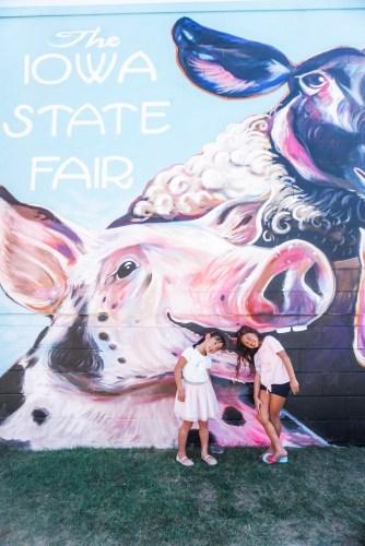 Iowa State Fair Wall Mural