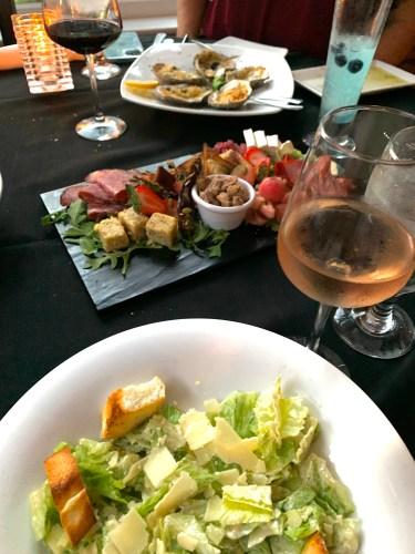 Dinner at Belford's In Savannah